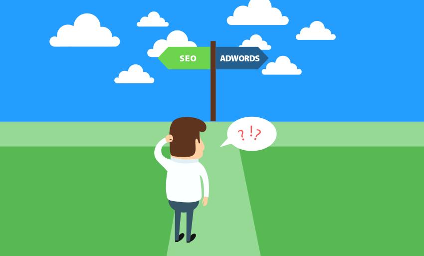 publicitar-o-posicionar-mi-pagina-web-adwords-vs-seo