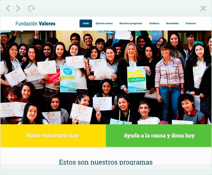 fundacionvalores.org_screen